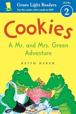 Book cover of COOKIES - A MR & MRS GREEN ADVENTURE