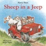 Book cover of SHEEP IN A JEEP