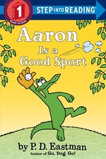 Book cover of AARON IS A GOOD SPORT