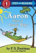 Book cover of AARON HAS A LAZY DAY