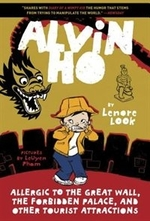 Book cover of ALVIN HO - ALLERGIC TO THE GREAT WALL F