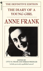 Book cover of ANNE FRANK - DIARY OF A YOUNG GIRL