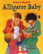 Book cover of ALLIGATOR BABY