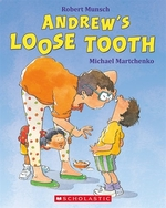 Book cover of ANDREW'S LOOSE TOOTH