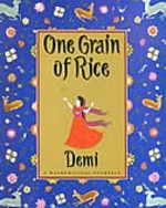 Book cover of 1 GRAIN OF RICE
