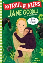 Book cover of TRAILBLAZERS- JANE GOODALL