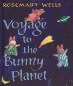 Book cover of VOYAGE TO THE BUNNY PLANET