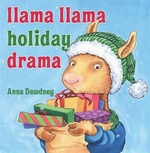 Book cover of LLAMA LLAMA HOLIDAY DRAMA