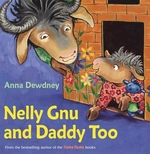 Book cover of NELLY GNU & DADDY TOO