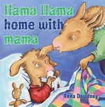 Book cover of LLAMA LLAMA HOME WITH MAMA
