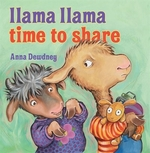 Book cover of LLAMA LLAMA TIME TO SHARE