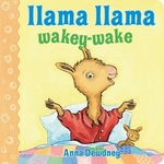 Book cover of LLAMA LLAMA WAKEY-WAKE
