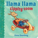 Book cover of LLAMA LLAMA ZIPPITY-ZOOM