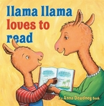 Book cover of LLAMA LLAMA LOVES TO READ
