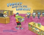 Book cover of FROGGY GOES TO THE LIBRARY