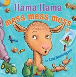 Book cover of LLAMA LLAMA MESS MESS MESS