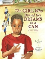 Book cover of GIRL WHO BURIED HER DREAMS IN A CAN