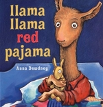 Book cover of LLAMA LLAMA RED PAJAMA