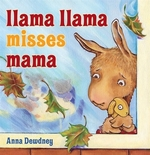 Book cover of LLAMA LLAMA MISSES MAMA
