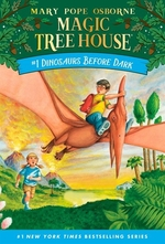 Book cover of MAGIC TREE HOUSE 01 DINOSAURS BEFORE DAR