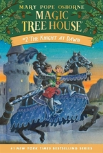 Book cover of MAGIC TREE HOUSE 02 KNIGHT AT DAWN
