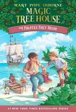 Book cover of MAGIC TREE HOUSE 04 PIRATES PAST NOON