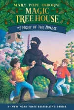 Book cover of MAGIC TREE HOUSE 05 NIGHT OF THE NINJAS