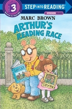 Book cover of ARTHUR'S READING RACE