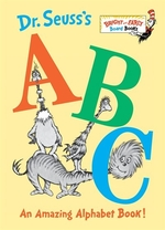 Book cover of DR SEUSS'S ABC AN AMAZING ALPHABET BOO
