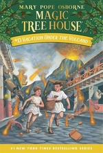 Book cover of MAGIC TREE HOUSE 13 VACATION UNDER THE V