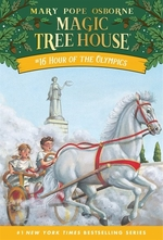 Book cover of MAGIC TREE HOUSE 16 HOUR OF THE OLYMPICS