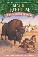 Book cover of MAGIC TREE HOUSE 18 BUFFALO BEFORE BREAK