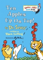 Book cover of 10 APPLES UP ON TOP