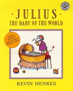 Book cover of JULIUS THE BABY OF THE WORLD