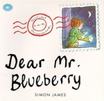 Book cover of DEAR MR BLUEBERRY