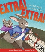 Book cover of EXTRA EXTRA FAIRY-TALE NEWS FROM HIDDEN