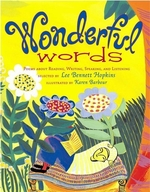 Book cover of WONDERFUL WORDS