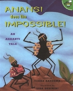 Book cover of ANANSI DOES THE IMPOSSIBLE AN ASHANTI