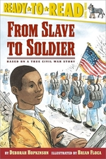 Book cover of FROM SLAVE TO SOLDIER