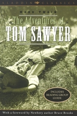Book cover of ADVENTURES OF TOM SAWYER