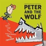 Book cover of PETER & THE WOLF