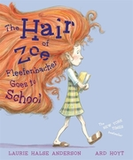 Book cover of HAIR OF ZOE FLEEFENBACHER GOES TO SCHOOL