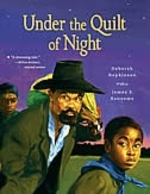 Book cover of UNDER THE QUILT OF NIGHT