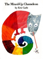 Book cover of MIXED-UP CHAMELEON