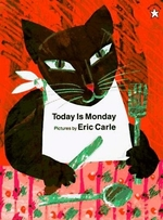 Book cover of TODAY IS MONDAY