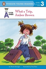 Book cover of AMBER BROWN - WHAT A TRIP