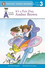Book cover of AMBER BROWN - IT'S A FAIR DAY AMBER BROW