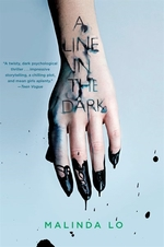 Book cover of LINE IN THE DARK