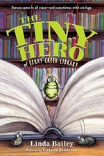 Book cover of TINY HERO OF FERNY CREEK LIBRARY