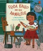 Book cover of FRIDA KHALO & HER ANIMALITOS